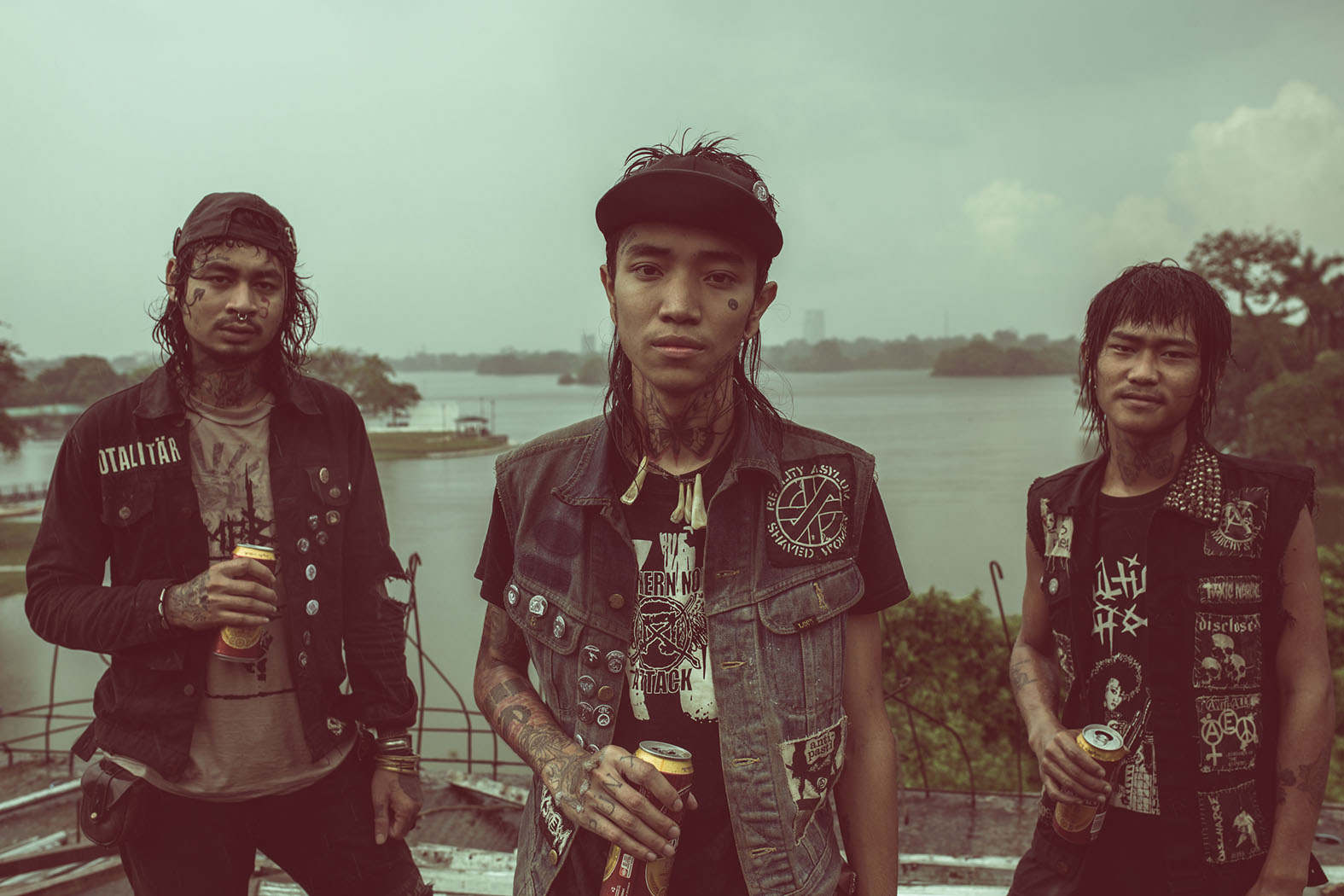 Djavanshir.n - rock portrait _ Pyit Tine Htaung