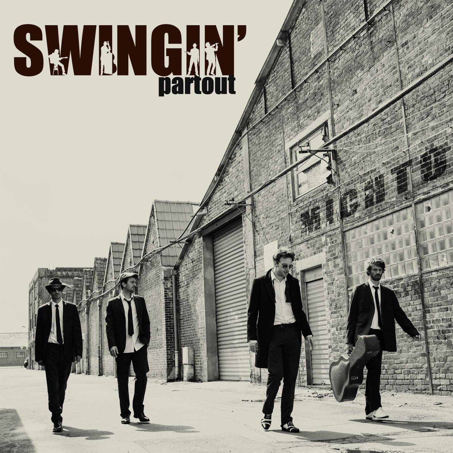 Djavanshir.n _ album cover _Swingin' Partout